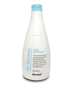 Look at this 32-Oz. Coconut Dog Shampoo on #zulily today!