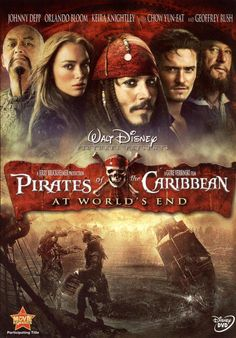 A0 Pirates of the Caribbean At Worlds End 3 Movie Poster Canvas Picture Art A4