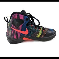 factory authentic b51cd ce2b5 Nike Shoes   Nike Lebron James Xiii 13 Sneaker Youth Boys   Color   Black Orange   Size  12b