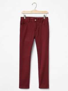 Bryce: OMG. How cute?! If these are a good fit, he will be such a hunk with the entire set. I LOVE boys in colored skinnys. Very classy/stylish.