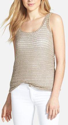 cute crochet sweater tank http://rstyle.me/n/j4z95r9te