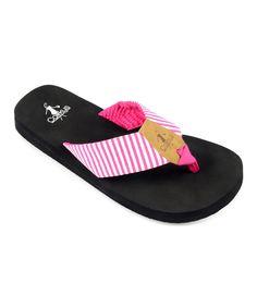 7072ff83b0a96 Corkys Footwear Fuchsia Tommi Flip-Flop