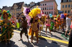 The world largest #Samba festival outside of Brazil takes place every year in the German city  of Coburg.