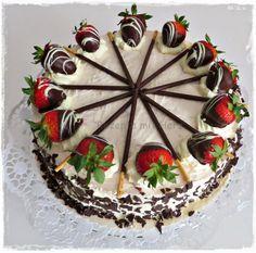 Erdbeer - Mascarpone - Torte
