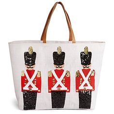 CASECOCO Santa Claus Reindeer Christmas Womens PU Leather Purse Handbag Shoulder Bag