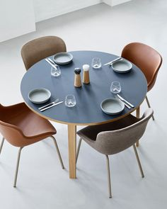 """Take a seat and enjoy the togetherness of sharing a meal, a bottle of wine, thoughts, ideas or aspirations. The brand new Hyg shell chairs are conceived as the basis for those """"hygge"""" moments. Danish Hygge, New Bedroom Design, Lounge Areas, Lounge Chairs, 2 Seater Sofa, Take A Seat, Chair And Ottoman, Danish Design, Scandinavian Design"""