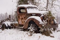 Old Rusty Trucks - Bing Images