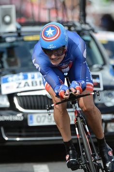 David Zabriskie - Tour de France, June 30, 2012, prologue by Team Garmin-Sharp-Barracuda, via Flickr
