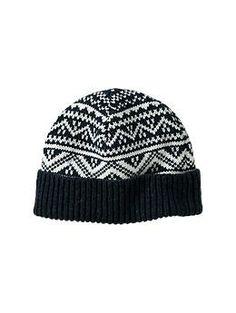 Mixed Fair Isle hat | Gap