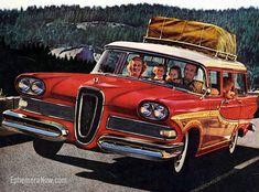 Plan59 :: Woodies :: 1950s Station Wagons :: 1958 Edsel Bermuda