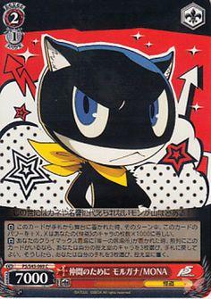 Shin Megami Tensei: Persona 5 Trading Card - CH P5/S45-069 C For My Comrades Morgana / MONA (Morgana)