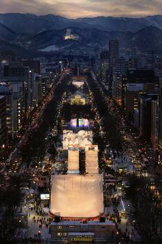 star wars snow festival japan