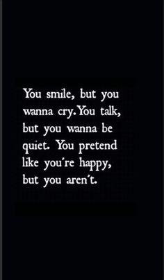 Super quotes deep depresion i am ideas Feeling Broken Quotes, Deep Thought Quotes, Quotes Deep Feelings, Hurt Quotes, Real Quotes, Mood Quotes, Happy Quotes, Life Sucks Quotes, Really Deep Quotes