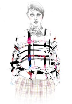 Tracy Turnbull fashion illustration