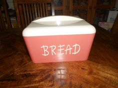 Gay Ware bread canister