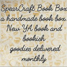 Hi guys!! I see that we have  A LOT of new followers and subscribers so I thought it was time for another post about who we are. We are SpearCraft Book Box. A husband and wife team Scott and Laura. Scott helps when he can but is super busy being active duty Military and obtaining his PhD. So this box or my baby is mostly all me . We have 3 tweens who keep us always in the go. We love fandoms from books tv and movies I'm sure you've seen a lot of those in our daily stories . A SpearCraft book…