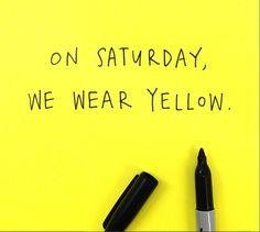 Saturdays....