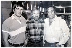 Dr Dennis Hanover with Chuck Norris