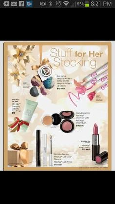 Start.  Shop at www.marykay.com/tdavalt your holiday shopping with me