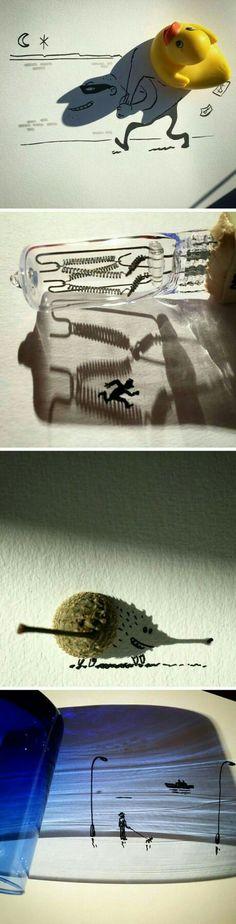 Mit Schatten malen
