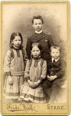 CDV Portrait of young siblings - Germany - c.1885 by Patrick Bradley 70, via Flickr