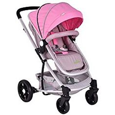 39f08c5ac92 Costzon Infant Stroller 2 in 1 Foldable Baby Buggy Pushchair Travel System ( Pink) Double