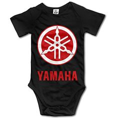HmkoLo Kids Baby Yamaha Logo Romper Jumpsuit Bodysuit Clothing Outfits Set 624 M Black ** To view further for this item, visit the image link.Note:It is affiliate link to Amazon.