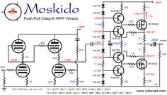 saw the MOSKIDO amplifier here on DIY Audio and later on Tube Cad ...