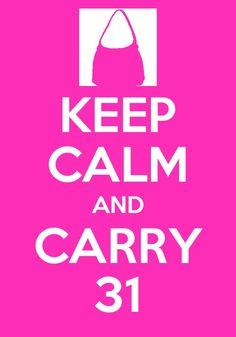 Keep Calm...Carry 31!
