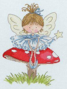 Wishful Thinking - Little Jem - Bothy Threads cross stitch kit