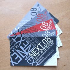 Ticket designs that have excellent typography. Ticket Invitation, Invitations, Easter 2013, Ticket Design, Full Sail, Ticket To Ride, Print Design, Graphic Design, Editorial Layout