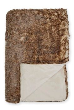 Buy Tonal Faux Fur Throw from the Next UK online shop