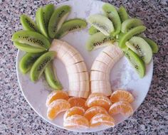 Un plateau de fruit