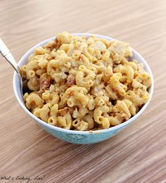 Chicken Bacon Ranch Macaroni and Cheese ~ What's Cookin' Love