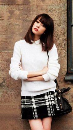 Mirei Kiritani (Japanese actoress, fashion model, news caster)