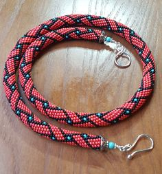 Peyote with a Twist, Not Crochet. Also called Peytwist.