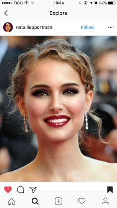The 34 Most Epic Celebrity Hair Transformations of 2017 Natalie Portman, Stunning Eyes, Gorgeous Hair, Liam Neeson, Gal Gadot, Celebs, Celebrities, Bride Hairstyles, Beauty Photography