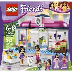 LEGO Friends Pet Salon 41007     Katie also said any Lego Friends sets!