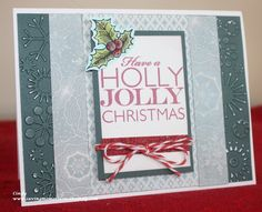 CTMH Frosted and Stamps from Frosted WTOG and To You and Yours #Handmade Christmas Card