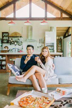 Cozy Indoor Prenup Shoot at Antipolo Beehouse Pre Nuptial Ideas Philippines, Prenup Ideas Philippines, Pre Wedding Poses, Pre Wedding Shoot Ideas, Pre Wedding Photoshoot, Prenup Theme, Prenup Outfit, Prenup Photos Ideas, Prenup Ideas Outfits
