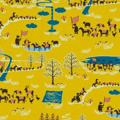Oasis for Cotorienne fabric by Anyan Sha