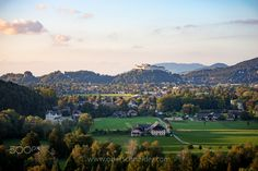 Salzburg in the last light of the day Online Shipping, Salzburg, Order Prints, My Images, Photographers, Golf Courses, Landscapes, River, Explore