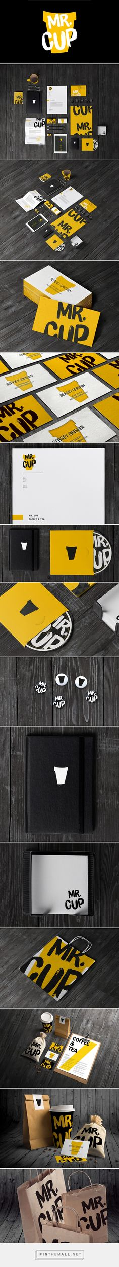 Mr.Cup Branding by Maria on Behance | Fivestar Branding – Design and Branding Agency & Inspiration Gallery
