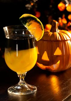 spooky screwdriver and 9 other great cocktails for Halloween