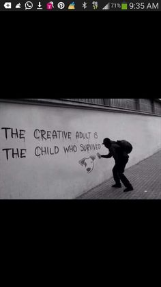 Creator adults the child