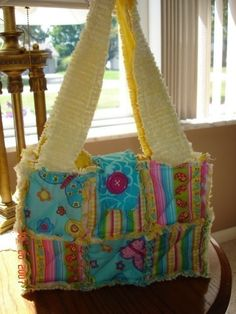 Make Your Own RAG Quilt PURSE Bag Tote