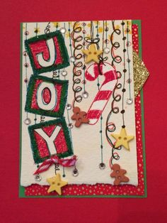 ATC Dangle Art--using Stampin' Up stamps and various other brand papers and embellishments.  Doodles. Artist Trading card by Beverly Stewart, aka ruby-heartedmom.