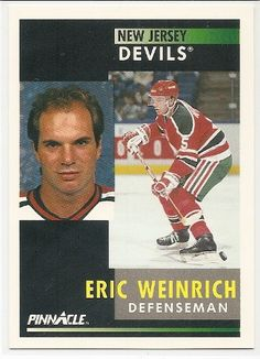 Erich Weinrich 1991-92 Pinnacle New Jersey Devils Card 89 * You can find more details by visiting the image link.