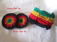 Sale Limited Edition Rasta  Earring and Bangle Set by snchastang25, $15.00