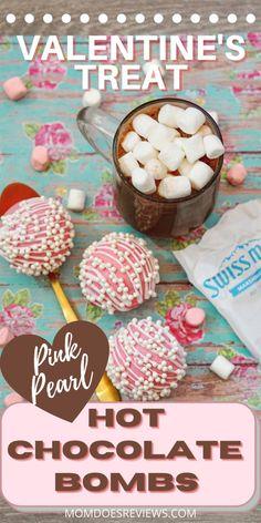 Pink Heart Pearl Hot Chocolate Bombs Happy Valentine Day HAPPY VALENTINE DAY   IN.PINTEREST.COM WALLPAPER EDUCRATSWEB